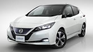 nissan white second generation nissan leaf revealed chasing cars