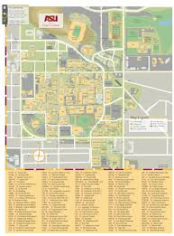 Arizona State University Map by Asu Maps My Blog