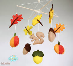 where to buy 2015 thanksgiving autumn squirell baby mobile forest