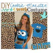 The Joy Of Fashion Halloween Cute Homemade Cookie Monster Costume by 22 Best Cookie Monster Images On Pinterest Cookie Monster