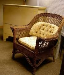 White Wicker Armchair Search All Lots Skinner Auctioneers