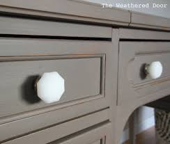 Glass Knobs For Kitchen Cabinets General Finishes Milk Paint Driftwood Gray The Weathered Door A