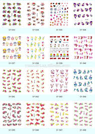 k5683 2016 new eco friendly nail art designs cute japanese animal