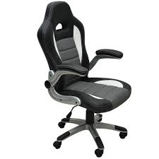 fauteuil bureau baquet bureau baquet fauteuil de bureau noir et gris baquet pu achat vente