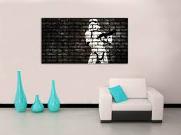 amazon com stormtrooper star wars canvas print home wall decor