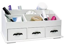 Desk Storage Drawers Make Up Drawers Wooden Cosmetic Pens Desk Tidy Organiser Holder