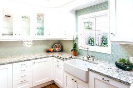 green kitchen backsplash looking sea glass kitchen backsplash green tile blue throughout