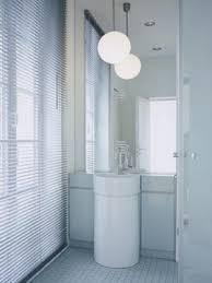 Small Bathroom Lights - white color and light for breezy bathroom decor