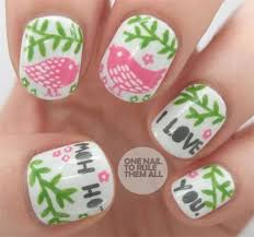 28 best valentine u0027s day i love you nail art designs images on