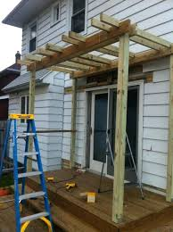 diy pergola kits bunnings swing plans on existing deck railing