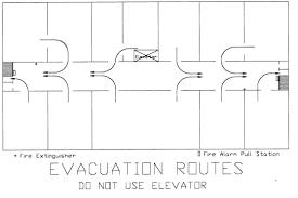 evacuation plans environmental health safety u0026 risk management