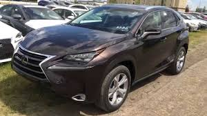 all new lexus nx compact new 2015 brown lexus nx 300h awd executive standard equipment