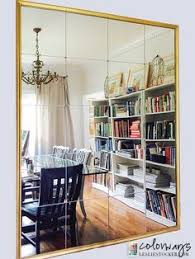 wall mirrors living room decorate using oversized mirrors moldings spaces and walls
