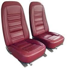 76 corvette parts 1976 corvette leather like vinyl seat covers 332 99 vetteco