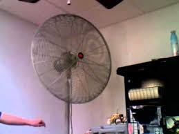 30 Oscillating Pedestal Fan Dayton Industrial Pedestal Fan Youtube