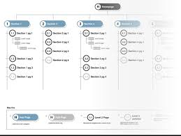 stylized sitemap template sketch freebie download free resource