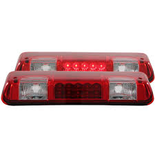 2010 ford f150 tail light cover amazon com anzo usa 531003 ford f 150 led red clear third brake