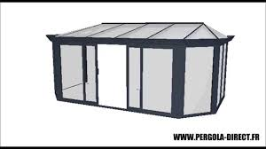 Veranda Concept Alu Veranda Kit Aluminium Www Pergola Direct Fr Youtube