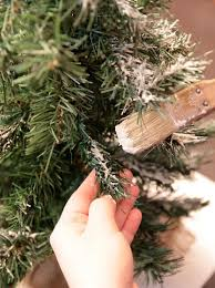 spruce up a boring tree with this cheap one ingredient