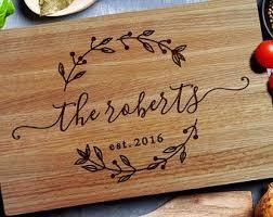 cutting boards personalized best personalized cutting board wedding gift 22 sheriffjimonline