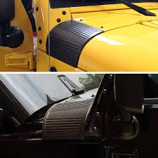 jeep body armor 2x car styling side body armor hood cowl cover protector sticker