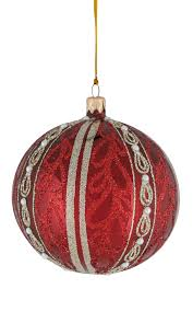 marsala pearl swirl ball 10cm christmas decorations xmas gifts