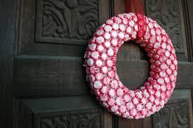 candy wreath candy wreath pretty in peppermint someday i ll learn