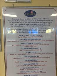 cape cod creamery south yarmouth menu prices u0026 restaurant