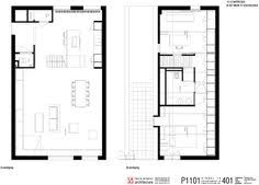 Floor Plan Of An Apartment Proyecto Jb Duplex Triplex Pinterest