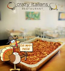 thanksgiving dinner memphis crazy italians fast casual authentic italian restaurant
