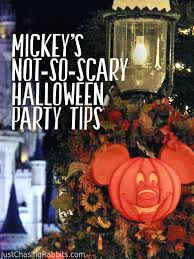 mickey u0027s not so scary halloween party tips 2013 just chasing