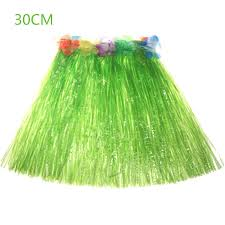 Hawaiian Halloween Costume Halloween Costume Pure Hawaiian Dance Grass Hula Skirt Party