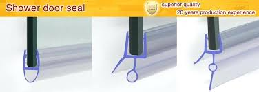 Shower Seals For Glass Doors Shower Seal Shower Door Bottom Seal Glass Shower Door Rubber Glass