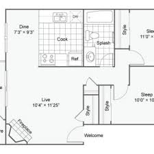 sle floor plans 3 bed 1 5 bath apartment in fife wa astoria apartment homes