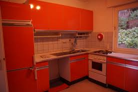 Orange Kitchen Cabinets by Green And Orange Kitchen Others Extraordinary Home Design
