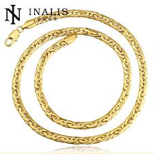 gold necklace styles images China ali gold supplier different styles tin alloy gold cuban link jpg