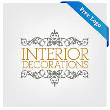 free vector interior decorations logo in ai eps format