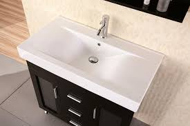 bathroom trendy modern bathroom sinks with wall decor also brown