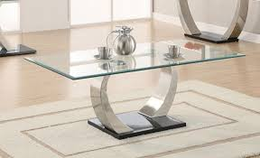 Glass Modern Coffee Table Sets Modern Glass Coffee Table Set Montserrat Home Design Choose