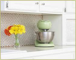 Copper Penny Tile Backsplash - penny round tile kitchen backsplash home design ideas u2026 a