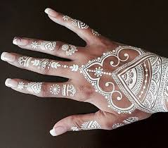 51 best white henna images on pinterest make up white henna
