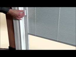 Enclosed Window Blinds How To Re Engage Handle On Between The Glass Blinds Youtube