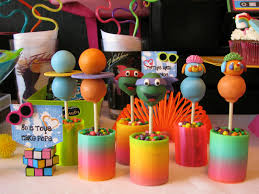 80s party table decorations growing up 80 s totally awesome party lynlees