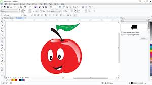 tutorial corel draw menggambar kartun coreldraw basic tutorial tamil part 2