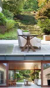 Sloped Garden Design Ideas Landscape Design Idea Steps With Integrated Greenery Contemporist