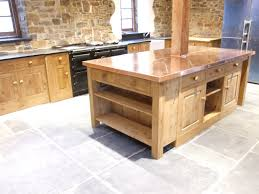 kitchen island worktops country kitchens of devon gallery copper worktop