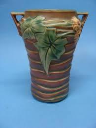 Roseville Vases Ebay Early Roseville Pottery Chloron 1203 Wall Pocket Green 12