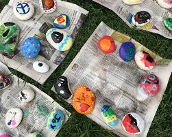 Garden State Rocks by Kindness Rocks Craze Spreads Across North Metro One Rock At A
