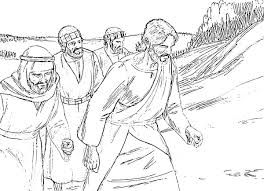 trnsfiguration of jesus coloring pages