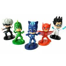 aliexpress buy 9cm 5pcs lot pj masks doll toy cartoon